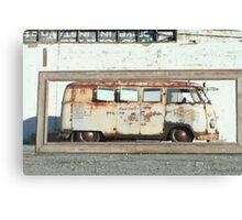 My rusty Bus Canvas Print