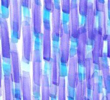 Purple Dashes Sticker