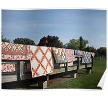Country Quilts  Poster
