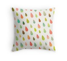 Opal Drops Throw Pillow