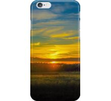 Sunset on the Calder iPhone Case/Skin