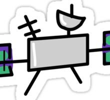 Satellite  Sticker