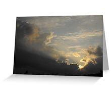 Breaking Through The Darkness Greeting Card