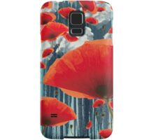 Poppy Love Samsung Galaxy Case/Skin