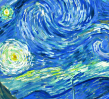 Van Gogh - Starry Night Sticker