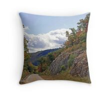 New Hampshire Byway - Autumn Throw Pillow