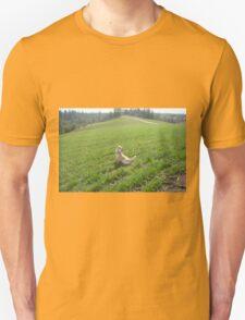 Rum watching over the wheat T-Shirt