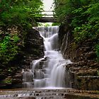 Ithaca's Buttermilk falls I by PJS15204