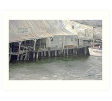 Tarpon Springs Fish Dock Art Print