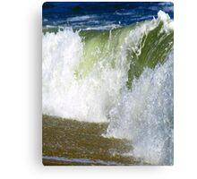 Water Wall Canvas Print