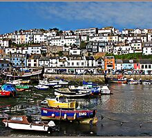 """ Brixham Harbour Devon"" by mrcoradour"
