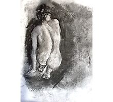 Charcoal Nude Photographic Print