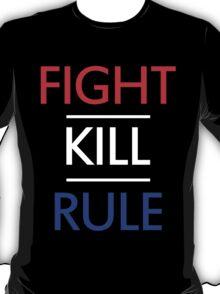 FIGHT STEEN KILL OWENS RULE T-Shirt