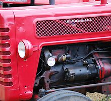little red tractor 3 - McCormick by Gareth Stamp