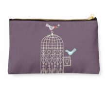 Leaving the Birdcage Studio Pouch