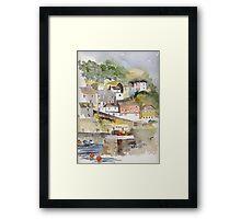 Mevagissey, Cornwall Framed Print