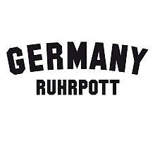 GERMANY RUHRPOTT Photographic Print