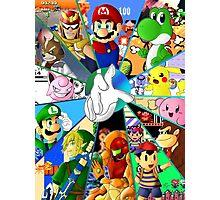 Super Smash Bros. OG Poster Photographic Print