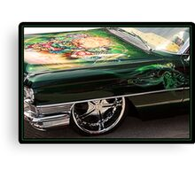 GREEN AND MEAN Canvas Print