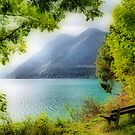 Mountain Lake by Daidalos