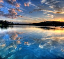 Reflections Of Day - Newport - The HDR Experience by Philip Johnson