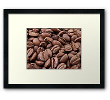Go On - Spill the Beans Framed Print