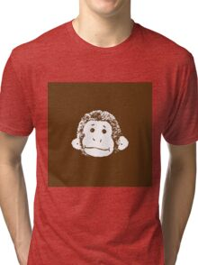 Truck Stop Bingo - Brown Tri-blend T-Shirt