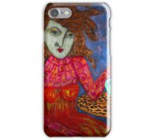 Teapot Girl iPhone Case/Skin