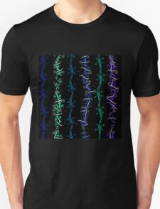 Barbed Wire and Marijuana Leaves T-Shirt