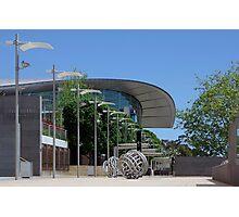Riverbank Promenade Photographic Print