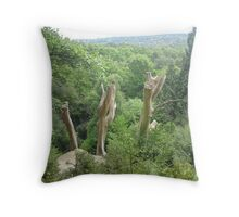 With Humility Throw Pillow