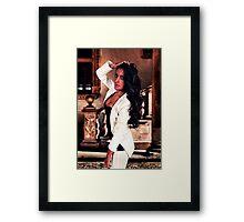 White Angel Fine Art Print Framed Print