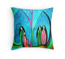 Ladies of Goodwill Throw Pillow