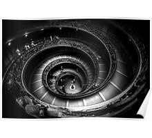 Vatican Museum Staircase Poster