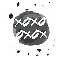 xoxo drops by Alejandro Durán Fuentes