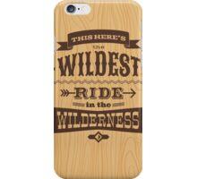 Big Thunder - Woody iPhone Case/Skin