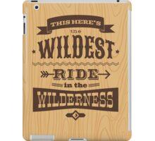 Big Thunder - Woody iPad Case/Skin