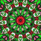 Snow Globe Kaleidoscope by Susan Russell