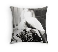 Where is My Groom? Throw Pillow