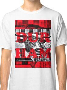 Durham Bull Pop in Red Classic T-Shirt