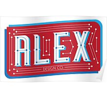 Alex Design Co. - Type Print #1 Poster