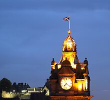 Balmoral Clock by Gary Winters