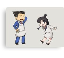 Phoenix Wright: Apprentice Baker Canvas Print