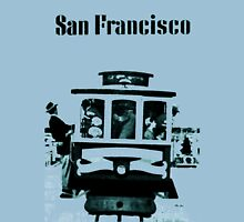 San Francisco cable car Unisex T-Shirt