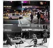 Like Night and Day - Darlinghurst Rd - 2009 Portfolio Project Poster