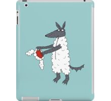 Mr Wolf's dinner suit. iPad Case/Skin