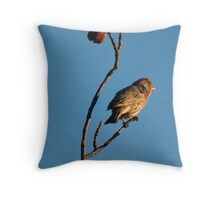 Nature Imitates Sculpture Throw Pillow