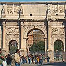 Arch Of Constantine by Al Bourassa