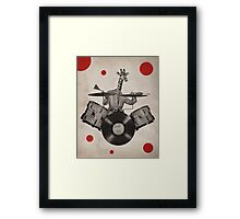 Anthropomorphic N°24 Framed Print