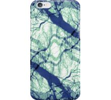 Reflective State/Centering Prayer Blue  by Jenny Meehan iPhone Case/Skin